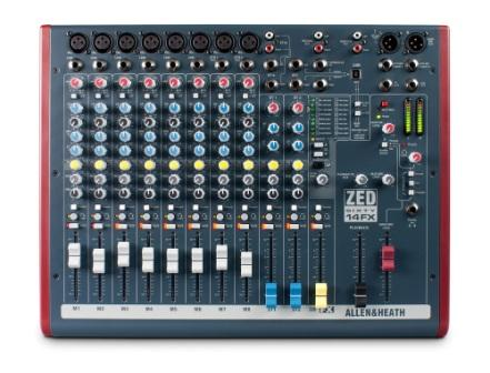 Allen and Heath ZED60-14FX keverő effektprocesszorral