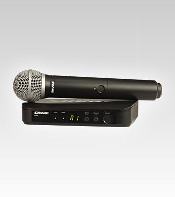 Shure BLX24/PG58 vezetéknélküli mikrofon szett