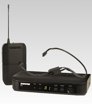 Shure BLX14E/P31 vezetéknélküli mikrofon szett