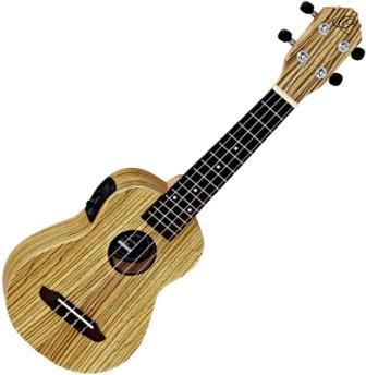 Ortega RFU10ZE elektroakusztikus ukulele