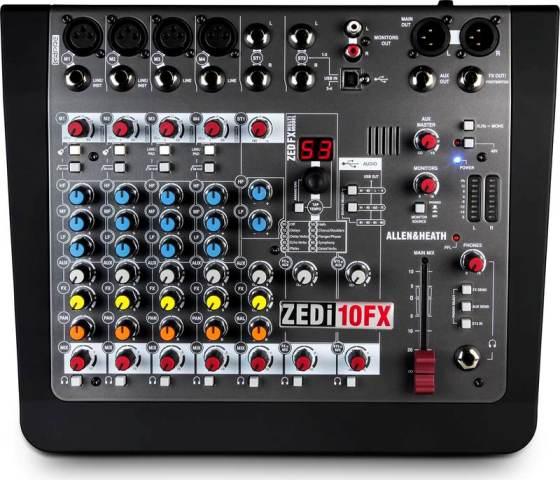 Allen and Heath ZEDi10FX 24/96 USB-hangkártyával