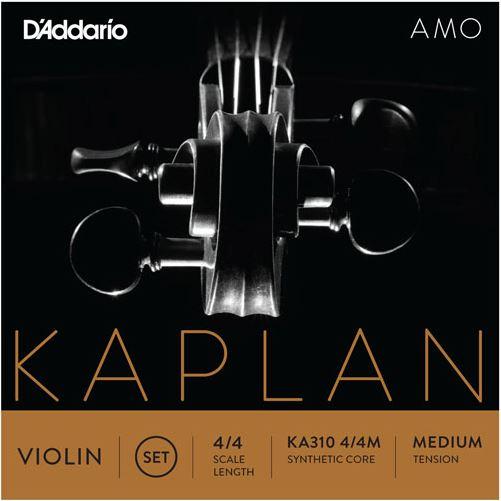 Kaplan Amo Violin String Set, 4/4 Scale, Medium Tension KA310