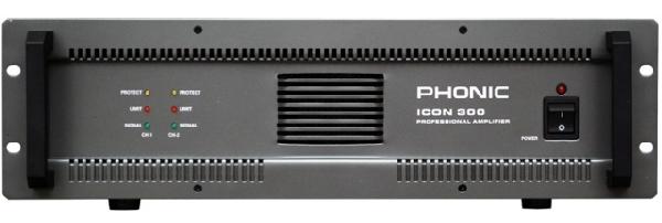 Phonic ICON300 2x200W/4 ohm vagy (25V-200V)