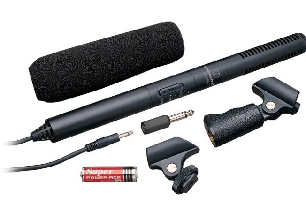 Audio-Technica ATR6550  kamera mikrofon