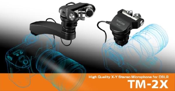 Tascam  TM-2X külső sztereó mikrofon