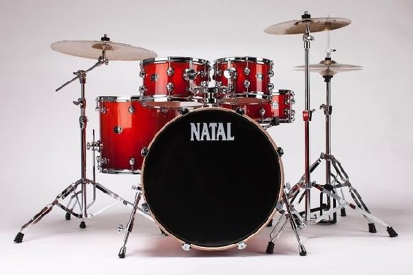 NATAL ARCADIA dobfelszerelés állványokkal US Fusion X Lacquer