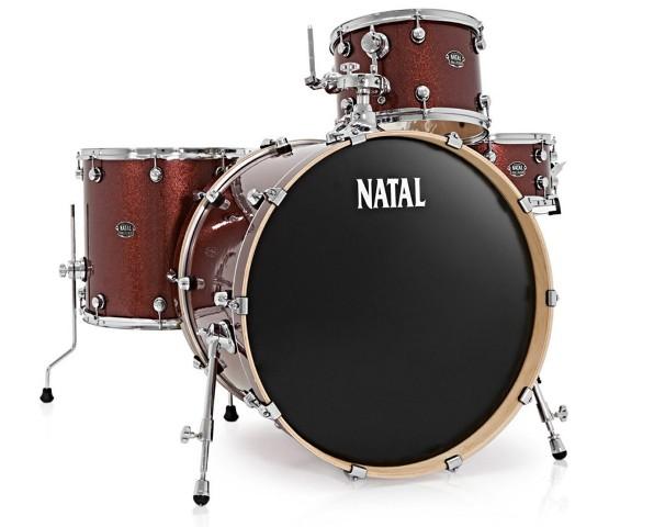 NATAL ARCADIA dobfelszerelés állványokkal US Rock 24 Lacquer