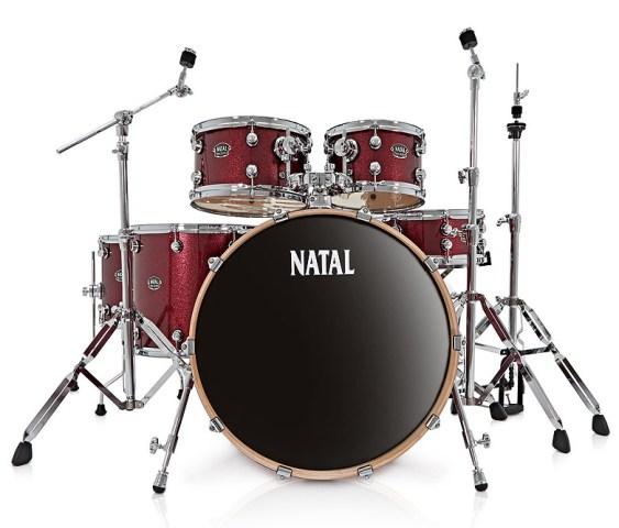 NATAL ARCADIA dobfelszerelés állványokkal US Fusion 22