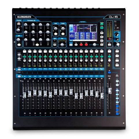 """Allen&Heath QU16, rackméretű 19"""" digitális hangkeverő"""