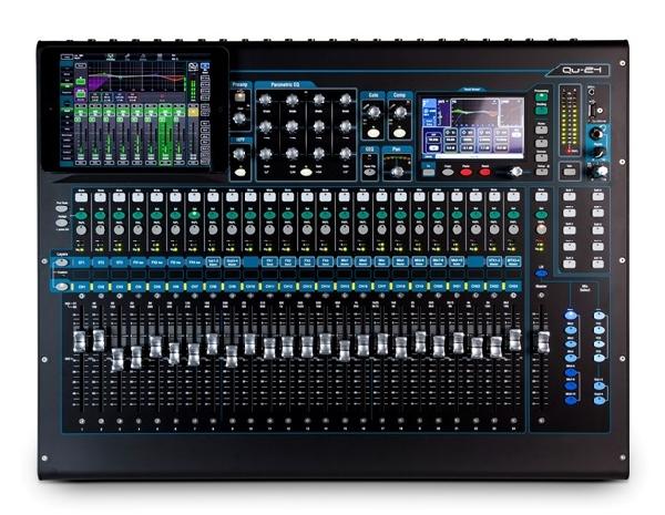 Allen&Heath QU24, 24+3 sztereó csatornás digitális hangkeverő