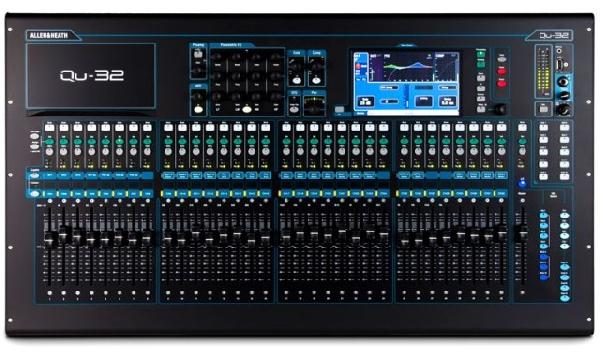 Allen&Heath QU32, 32+3 sztereó csatornás digitális hangkeverő