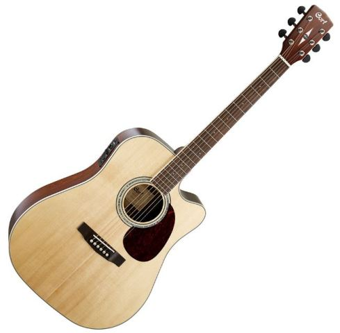Cort   Co-MR710FMD-NAT  elektroakusztikus gitár