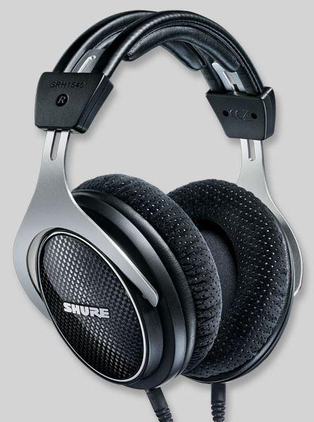Shure SRH1540 zárt, prémium audiophile fejhallgató