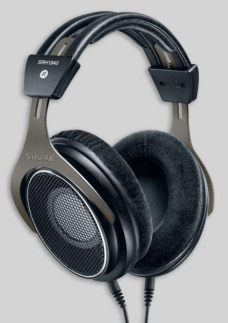Shure SRH1840 nyitott, prémium audiophile fejhallgató