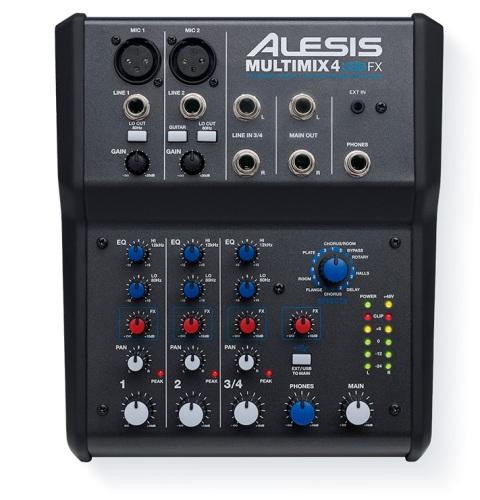 Alesis  Multimix 4 USBFX keverő mixer
