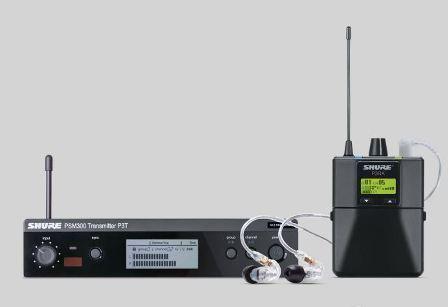 Shure PSM300 P3TRA215CL Vezetéknélküli személyi monitorrendszer, fém házas vevővel, SE215CL fülhallgatóval