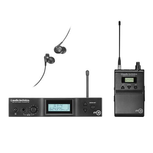 Audio-Technica  M3 SYSTEM VEZETÉKNÉLKÜLI FÜLMONITOR RENDSZER