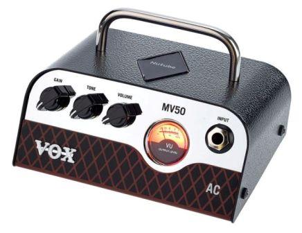VOX MV50AC mini gitárerősítő fej  NUTUBE technológiával