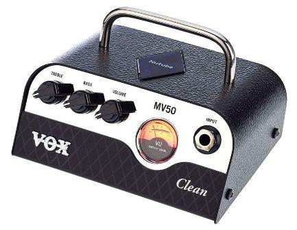 VOX MV50CL mini gitárerősítő fej  NUTUBE technológiával
