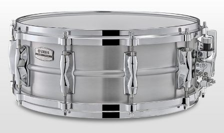 "Yamaha Recording Custom Aluminum pergődob 14"" x 5,5"" RAS1455"