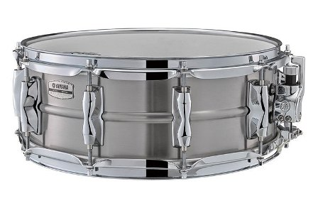 "Yamaha Recording Custom Stainless Steel pergődob 14"" x 5,5"" RLS1455"