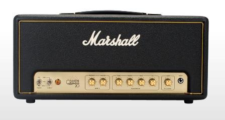Marshall Origin 20H csöves gitárerősítő fej