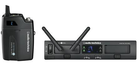 Audio-Technica ATW1301 System 10 PRO egycsatornás zsebadós készlet, mikrofon nélkül