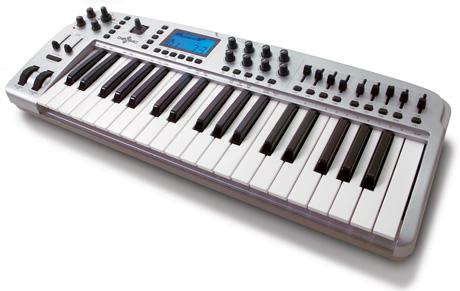 MIDI vezérlő billentyűzetek