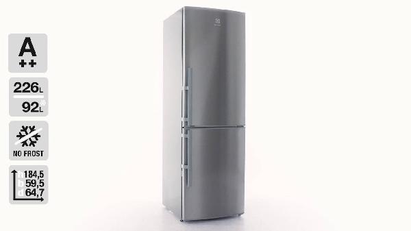 ELECTROLUX EN3453MOX no frost kombinált hűtő