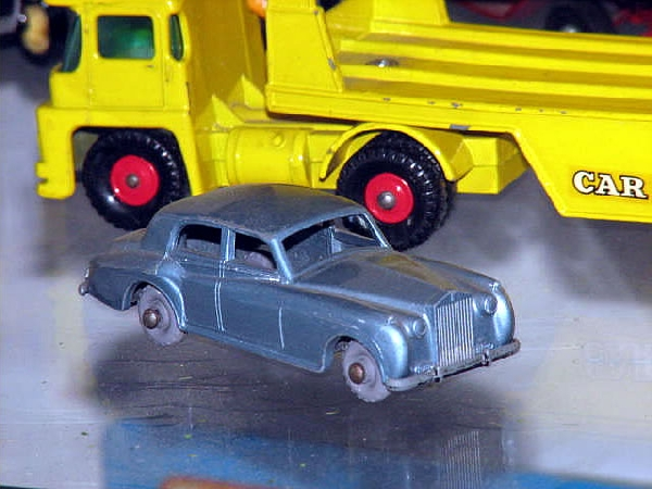 Rolls Royce Silver Cloud matchbox No44 Made in England