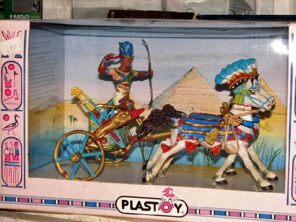 Plastoy Egyiptomi harci szekér