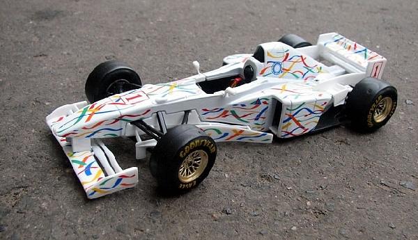 Bburago Formula one collection Pocono Cup 1/24