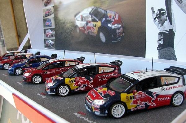 Citroen 6db-os WRC Champion szett Norev 1/43