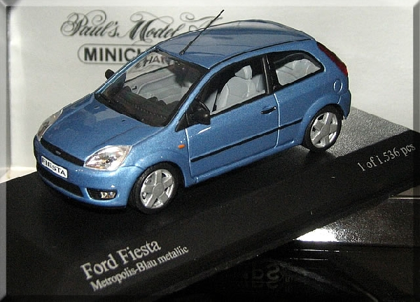 Ford Fiesta 1/43 Minichamps
