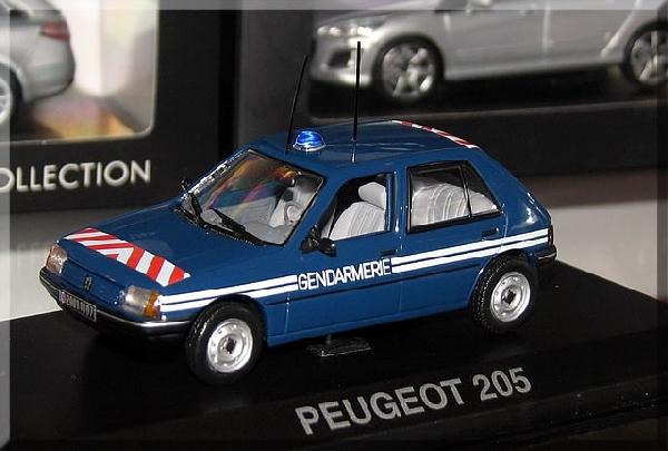 Peugeot 205 1/43 Norev