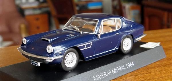 Maserati Mistral 1/43