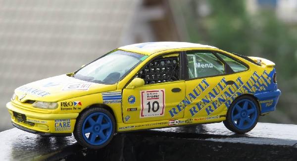 Renault Laguna Wtcc A. Menu Vitesse 1/13