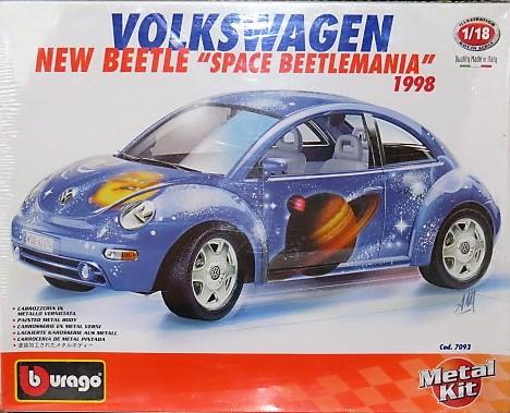 Volkswagen new beetle 1998 1/18