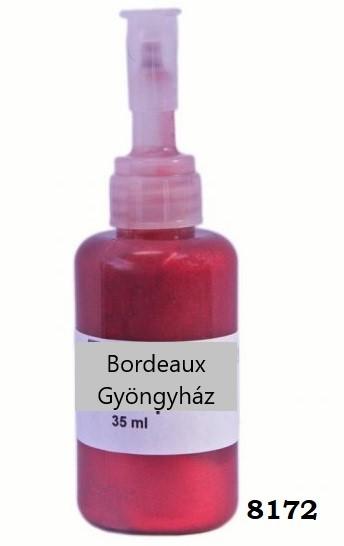 Bordeaux gyöngyház 8172