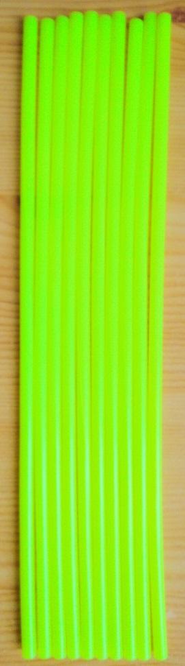 Küllő dísz Fluo sárga