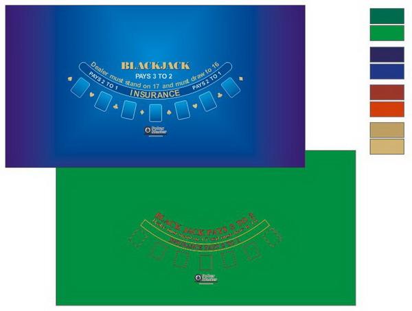 CASINO PRO Blackjack posztó, egyéni emblémával