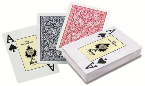 Fournier - 2818 CASINO 100% Plastic kártya