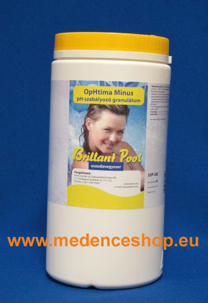Brillant Pool OpHtima Minusz pH- 2kg UVP-202