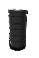500mm átmérőjű vízóraakna spirál kiemelhető KPE csöves szerelvényekkel, MOM13 órával