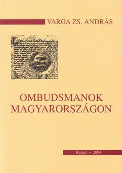 Ombudsmanok magyarországon