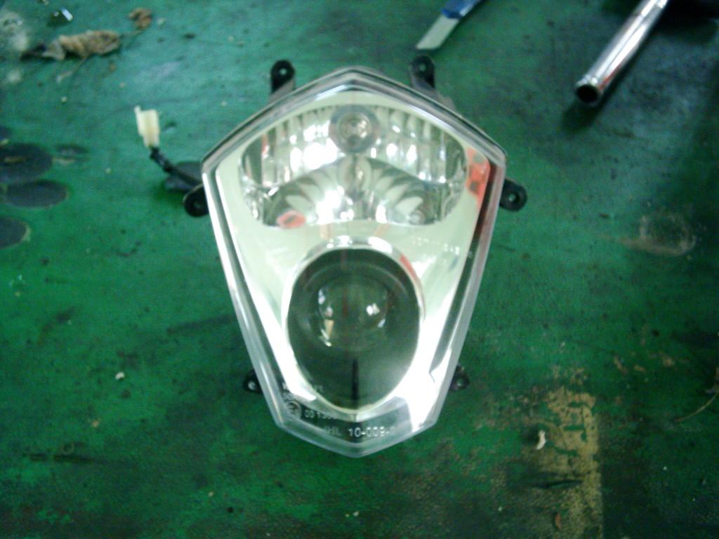 Rieju Toreo új első lámpa.