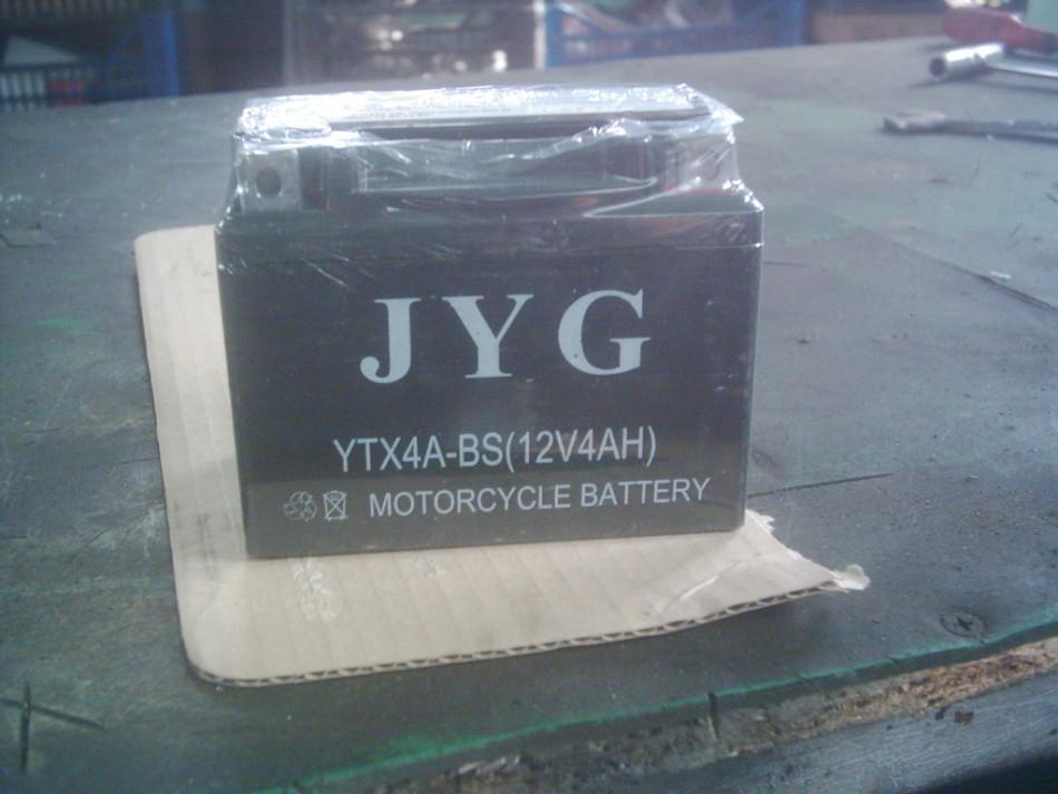 YTX 4L BS , Honda Dio AF 18-25-27-28, Kymco, Sym, Delym,Suzuki Sepia, HI-UP, Yamaha 3KJ  zselés akkumlátor.