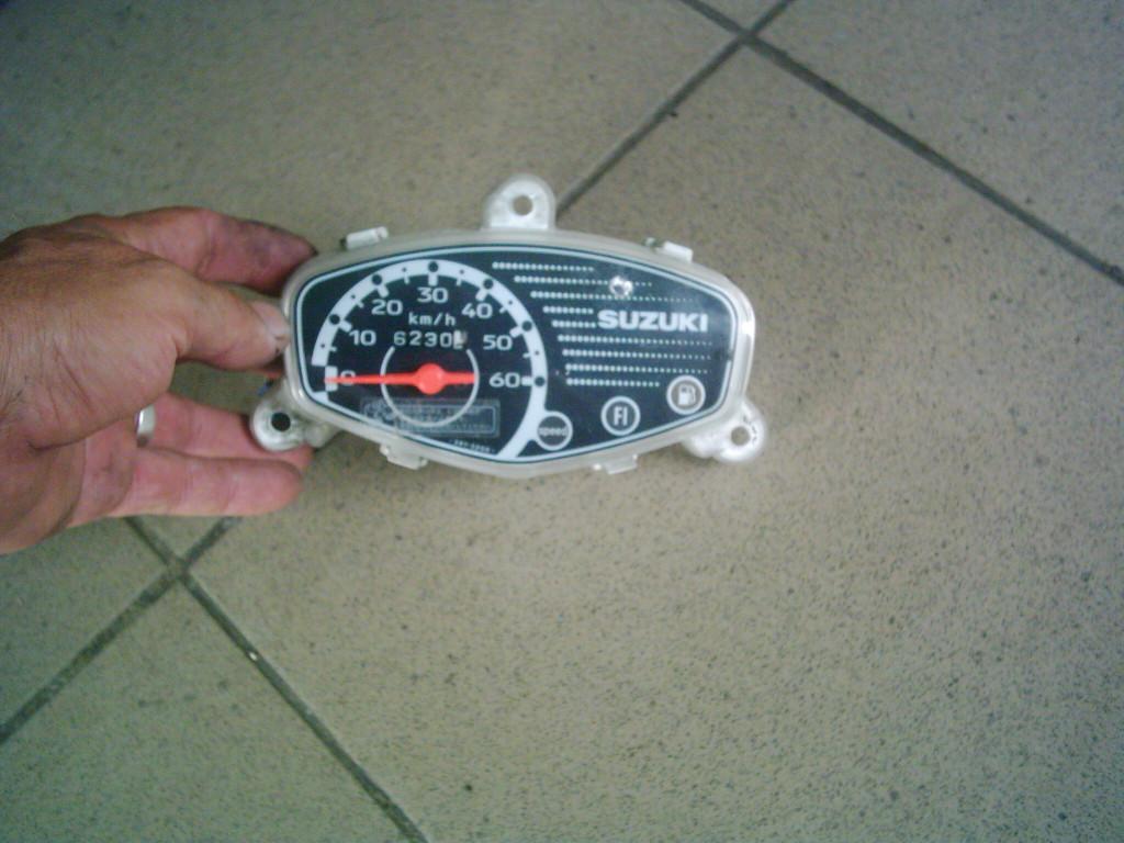 Suzuki Lets 4, Basket injektoros 4T  CA41A  Bontott kilóméter óra.