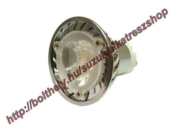 Izzó 3 LED 220V 4W GU10 hideg fehér JAP-400000 * JAP