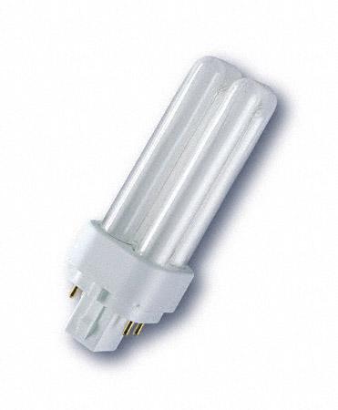 Kompakt fénycső F18DBX/830/4P 18W warm white G24q-2 Biax D
